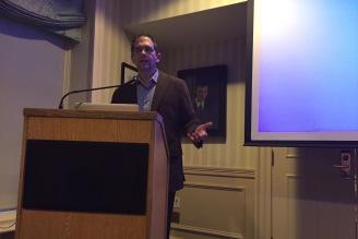 Professor Anthony Kaldellis, Ohio State University, responding to Professor Eastmond's lecture.